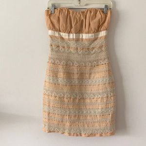 Plenty by Tracy Reese strapless dress size 0